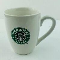 Starbucks Coffee Small Mug 8oz White With Green Mermaid Siren Icon Logo 2007 Mug