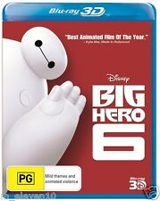 Big Hero 6 : Blu-Ray 3D : NEW