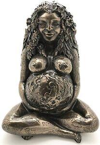 New! Millennial Gaia Mother Earth Goddess Oberon Zell Masterpiece Sculpture Gift