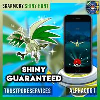 Pokemon Go Skarmory SHINY Catch Guaranteed !