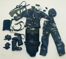 Military Uniform Weapons Accessories for 1/6 Scale Action Figure GI Joe Lot #525
