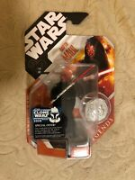 Star Wars 30th Anniversary Clone Wars Darth Maul Action Figure W/Silver Coin NEW
