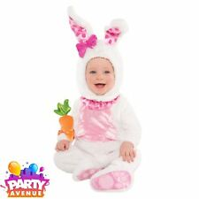 BABY MINI Wabbit Lapin Costume 6-12 mnths Mignonne Pâques Fancy Dress Outfit