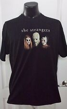 The Strangers Universal Movie 2008 Horror Masks Adult XL Black T Shirt Rare
