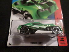 Hw Hot Wheels 2015 Hw Race #176/250 Twinduction Hotwheels Green Vhtf