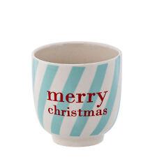 Bloomingville Geschirr kleiner Becher Lucia Merry Christmas