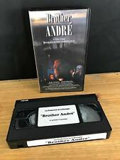 BROTHER ANDRE VHS OOP VIDEO FILM BY JEAN-CLAUDE LABRECQUE