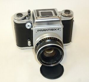 Pentacon Praktisix IIA 2a camera medium 6x6cm w/80mm f/2.8 Zeiss Biometar lens