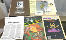 Commodore Vic 20 Games & Software & Power Play Mags Lot Untested Bundle