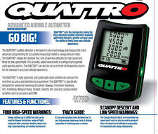 New L&B Quattro Parachute Skydiving Electronic Digital Audible Altimeter