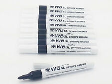 Dry Wipe Clean Pen White Board Amp Books For Kids Eraseable Marker Black Non Toxic