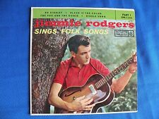 JIMMIE RODGERS Sings Folk Songs EPR-1-315 Part I Bo Diddley Riddle