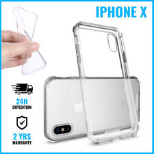 Transparent 0.3mm Soft Gel Clear Case Cover Cas Etui Coque Silicone For iPhone X
