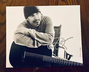 DANIEL LANOIS (U2/JOSHUA TREE) SIGNED 8X10...AMAZING!