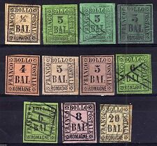 Victorian (1837-1901) Italian Stamps