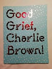 Good Grief Charlie Brown Exhibition Catalogue Somerset House Peanuts Snoopy