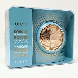 FOREO UFO Mini2 LED Thermo Activated Smart Mask BLUE - Ex Display - No Code