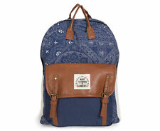 NWT Women's Element Eden Sofia Battik Print Backpack Navy One Size New Top Carry