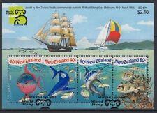 NEW ZEALAND 1999 M/S AUSTRALIA UNDERWATERWORLD (ID:MU1556)