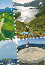 Azores Stamps Booklet 2016 - Portugal Postal Services (CTT)
