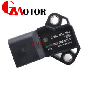 0281002399 038906051B MAP Intake Manifold Air Pressure Sensor For Audi For GOlf