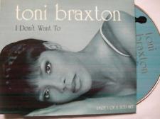 Toni Braxton-I Don`T Want To -Cds- (UK IMPORT) CD NEW