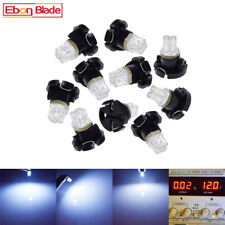 10Pcs T4/T4.2 Neo Wedge LED Bulb White Center Console Climate Light Switch Lamps