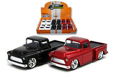 12 Pack of 1955 Chevy Stepside Pickup Truck Die-cast Car 1:32 Jada Toys 5 inch