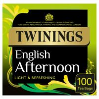 Twinings English Afternoon Tea, 100 Tea Bags 100 per pack