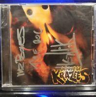 House of Krazees - Casket Cutz CD Rare Cover Signed twiztid insane clown posse
