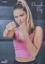 PAMELA REIF - A4 Poster (ca. 21 x 28 cm) - Topmodel Clippings Fan Sammlung NEU