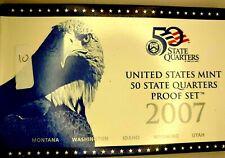 2007-S US Proof State Quarter Mint Set 5 Coins BU CLAD 19owc0913