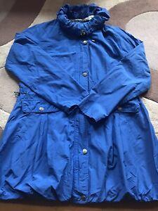 Womens Spring Summer Light Coat Size Large 14 Jessica Graaf Brand