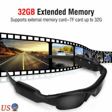 Mini 1080P HD Camera Glasses Recorder Outdoor Sport Sunglasses Camcorder Eyewear