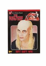 Riff Raff Rocky Horror Butler Long Blonde Wig Bald Cap Costume Dress Fm55028