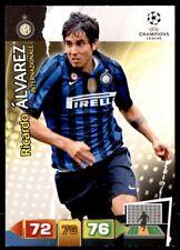 Panini Champions League 2011-2012 Adrenalyn XL Ricardo Álvarez FC Inter Milan