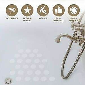 Bathroom Bath Stickers Non Slip Safety Tape Anti Grip Pads for Bathtub Shower