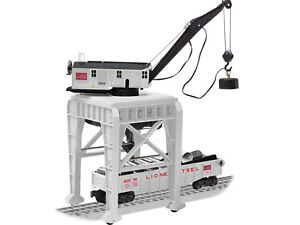 LIONEL #82022 STEEL GANTRY CRANE COMMAND CONTROLLED ONLY TRAIN ACCESSORY O GAUGE