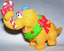 Muppet sesame street Applause Christmas snuffleupagus snuffy plastic cake topper
