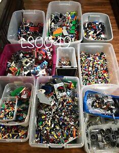 🌟 1000+ CLEAN RANDOM 💯% LEGO Lot PIECES Bulk STEM Pounds Legos MIX EDUCATIONAL