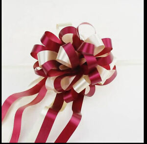 Ribbon Pull Bow Double Bows✅Ships Same Day✅Wedding Gift Birthday Decoration