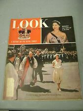 LOOK APRIL 19 1955 QUEEN ELIZABETH PHILLIP MARGARET ROYAL FAMILY