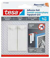 tesa 77773-00002-00 Removable Adhesive Nail for Picture Hanging on Wallpaper,