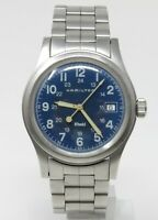 Orologio Hamilton khaki men's watch all stainless steel clock sub 50 meters
