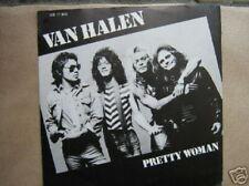 VAN HALEN 45 TOURS HOLLANDE PRETTY WOMAN (ROY ORBISON)