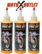 Motorcycle Ride On Tire Sealant 3 Pack Kit Victory Buell Ducati Triumph Can Am