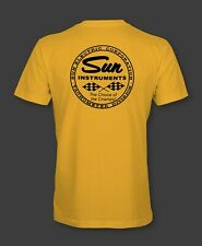SUN INSTRUMENTS Retro T-Shirt tachometer tach speed shop hot rod electric corp