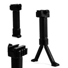 Us 2 in 1 Vertical Foregrip insert leg bipod 20mmPicatinny Rail Grip for Hunting