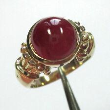 1479 - Attraktiver Ring aus Gelbgold 375 mit Rubin - 2050