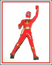 Power Rangers Sentai Hero Vinyl Figure _ Dino-Thunder _ Red Ranger